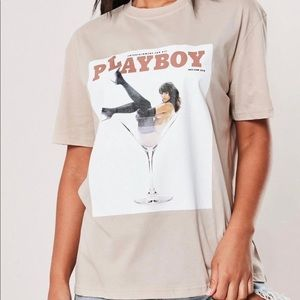 Playboy x Misguided T-shirt